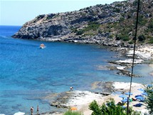 Řecko, Rhodos, Faliraki