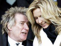 Rod Stewart s manželkou Penny