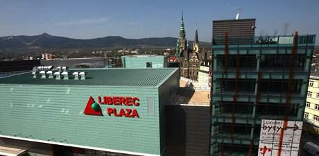 Obchodní centrum Plaza v Liberci.