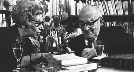 Ilse Ester Hoffeová a Max Brod
