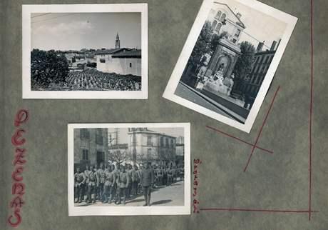 10. rota čs. pěšího pluku 1, Pezenas. (květen a červen 1940)