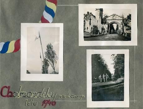 Tábor v Cholmondeley. (léto 1940)