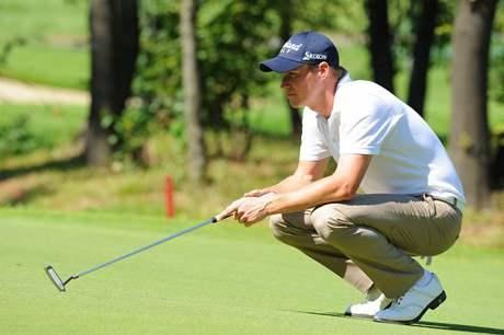 Fredrik Widmark, třetí kolo Czech Open 2010.