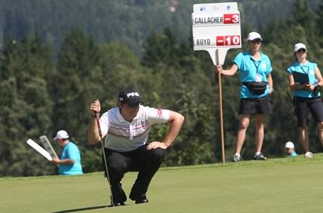 Gary Boyd, čtvrté kolo Czech Open 2010.