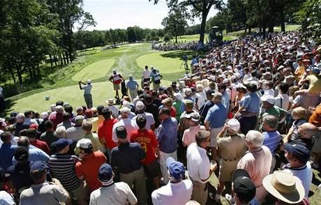 Tiger Woods, diváci, 2. kolo Barclays