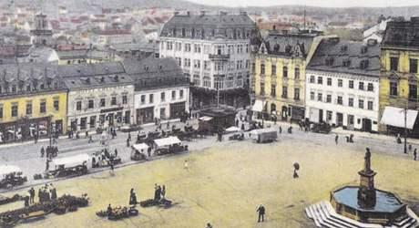 Secesní Café Habsburg patřilo mezi nejoblíbenější podniky.