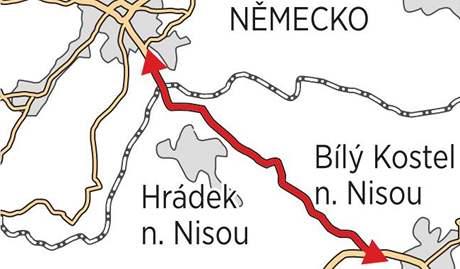 Rychlostní silnice, která má být dostavěna na konci příštího roku.