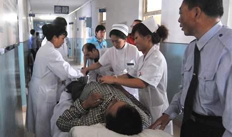 Nehodu letadla společnosti Henan Airlines na severovýchodě Číny zázračně přežilo 54 lidí (25. srpna 2010)