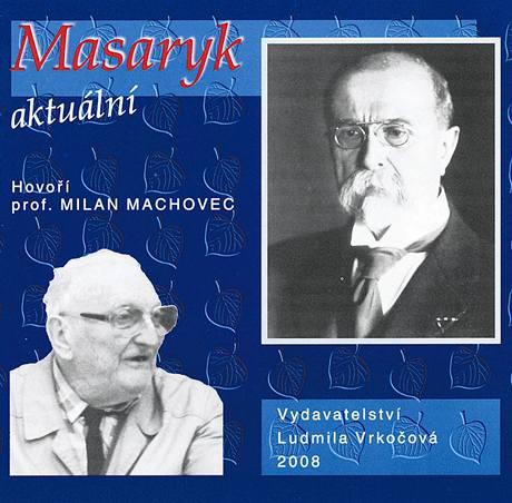 Obal čtyřalba Masaryk aktuální