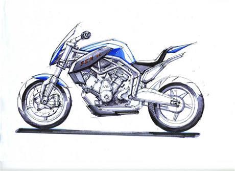 Skica nové motorky FGR