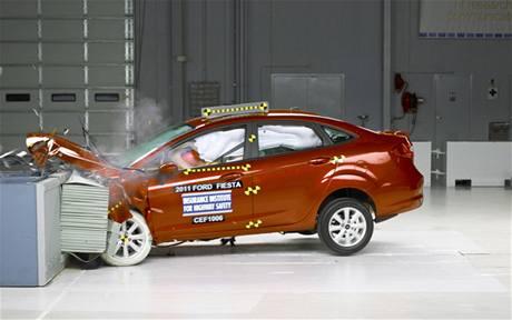 Crashtest Ford Fiesta