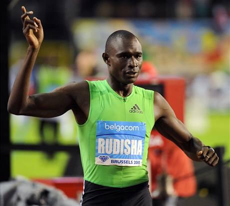 světový rekordman David Rudisha z Keni vyhrál v Bruselu běh na 800 metrů