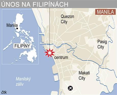 Únos na Filipínách