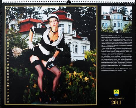 Kalendář města Černošice pro rok 2011.