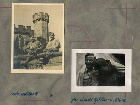 """""""Moje maličkosť sjeho výsostí Gabčíkom"""". Budoucí paraskupina ANTHROPOID – Jan Kubiš a Josef Gabčík, Cholmondeley. (léto 1940)"""