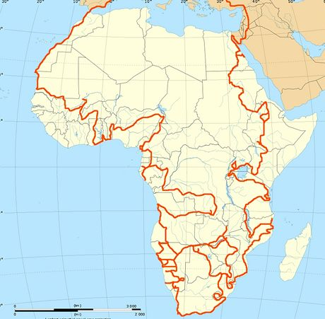 Trasa, kudy Marek Havlíček a Tereza Tschöplová objeli Afriku
