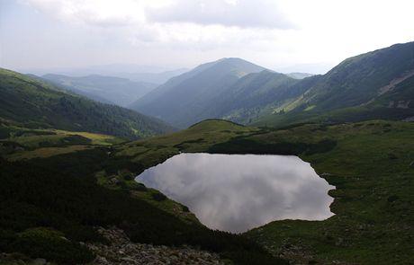 Rumunsko, Rodna. Největší jezero na Rodně Lala Mare