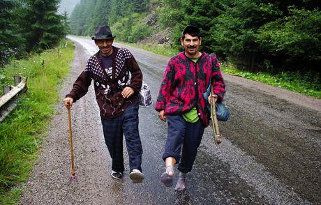 Rumunsko, Rodna. Rumunští cikáni u Cârlibaby