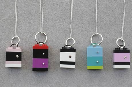 Kolekce šperků z Lega od designérky Emiko Oye