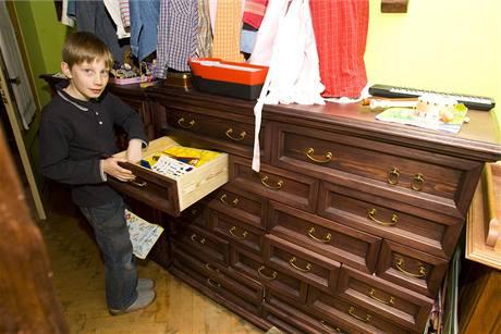 Řemeslný fortel nezapřou ani prádelníky