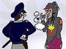 Policejní příručka s názvem Důsledně proti toxikomanii