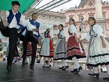 Ve čtvrtek začal 21. ročník Mezinárodního folklorního festivalu Brno