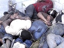 Na odlehlém ranči v Mexiku objevili vojáci 72 mrtvých těl (25. srpna 2010)