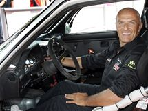 Barum Rally Zlín 2010: Enrico Bertone v závodním voze BMW. (26. srpen 2010)
