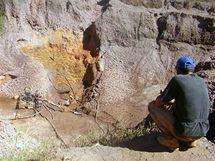 Brazilský zlatý důl Serra Pelada dnes.