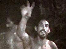 Záběr z videa, které natočili zavalení horníci v chilském dole San José. (27. srpna 2010)