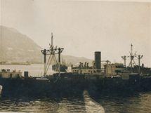 Cesta do Anglie vedla přes Gibraltar. (červen 1940)