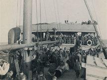 Na lodi Rod el Farag. (červen 1940)