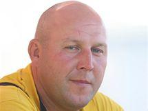 Martin Madry, greenkeeper golfového resortu v Čeladné.