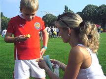Fotbalový turnaj Junior Cup - Diabetes