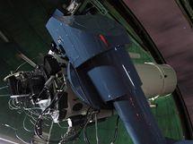 Izraelský dalekohled o průměru 1 metru (observatoř Wise, Negevská poušť, Izrael), kterým bylo pořízeno nejvíce měření