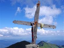 Rumunsko, Rodna. Na vrcholu Ineu (2279 m)