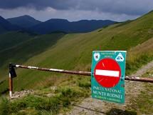 Rumunsko. Pohoří Rodna je mezinárodně uznávaným národním parkem