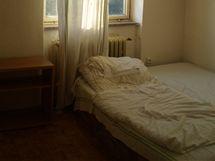 Původní vzhled pokoje na ubytovně