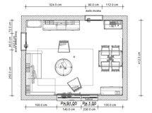 Kompletní proměna starého obývacího pokoje
