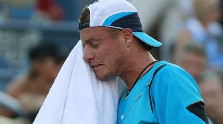Lleyton Hewitt. Šampion z roku 2001 vypadl na US Open 2010 hned v úvodním kole