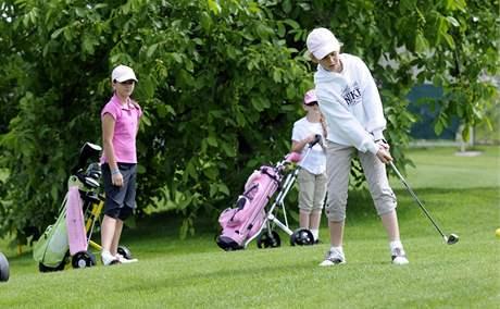 Školní golf - ilustrační foto.