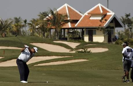 Turnaj Johnnie Walker Cambodia Championship na hřišti Phokeethra byl součástí profesionální Asian Tour.