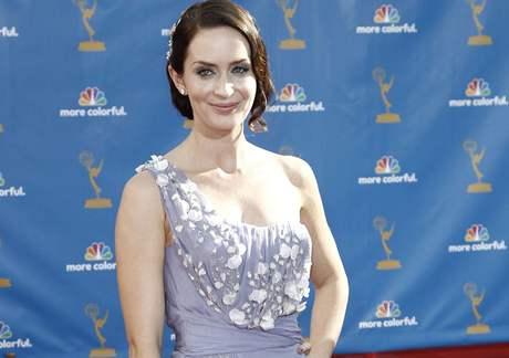 Předávání cen Emmy - herečka Emily Blunt