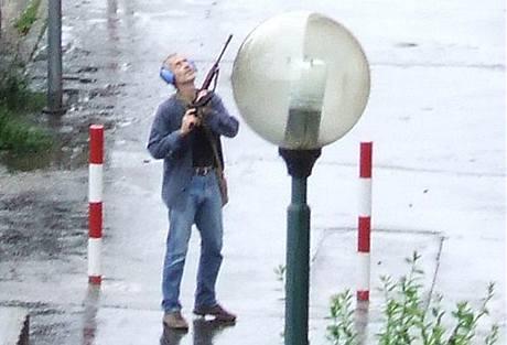 STŘELEC. Muž, který v Bratislavě zabil nejméně šest lidí. (30. srpna 2010)