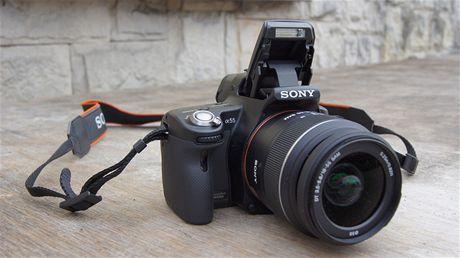 Sony Alfa 55 - první živé fotografie