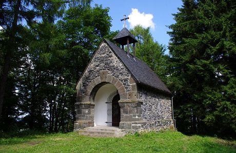 Velký Roudný, poutní kaple na vrcholu