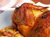Kuře s nádivkou.