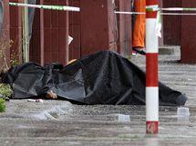 V Bratislavě se střílelo. Zemřelo nejméně sedm lidí (30. srpna 2010)