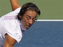 Francescha Schiavoneová v 1. kole US Open