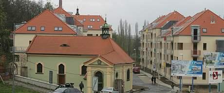 Nové bytové domy U Ježíška v Plzni